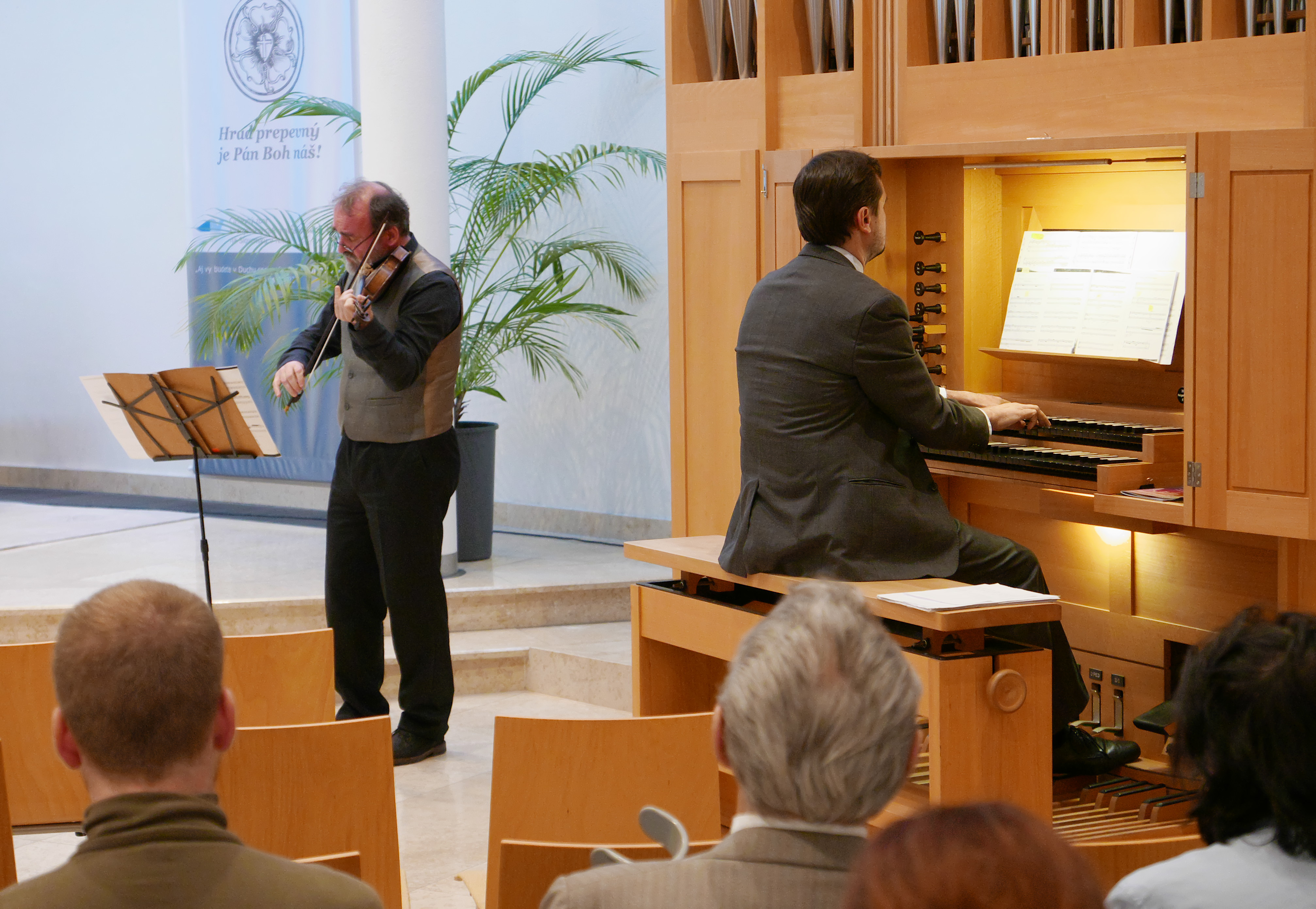 a169acd4fb4c8 Organ a husle na ARS ORGANI - Kam v meste   moja Nitra