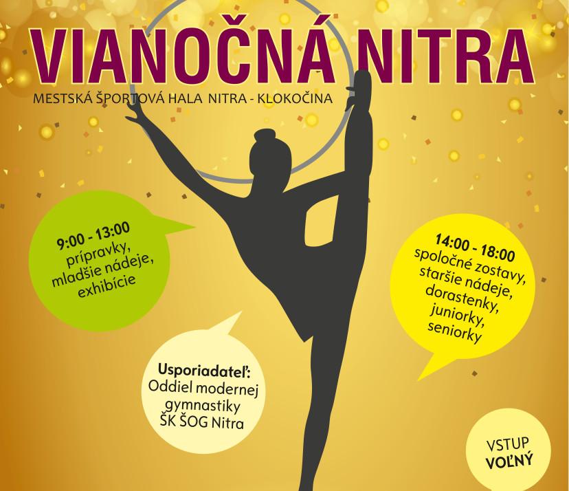 Vianočná Nitra 2017 - Medzinárodná súťaž v - Kam v meste  b5bddd4ceb8